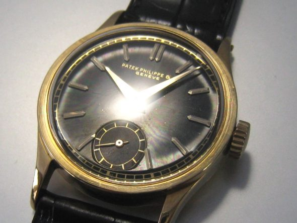ref.96 yellow with black dial