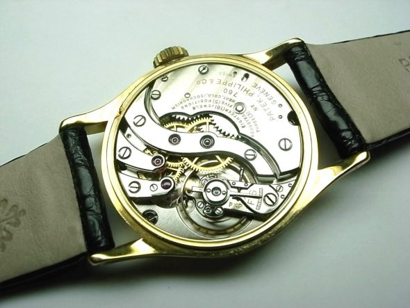 ref.96 yellow gold Breguet numerals