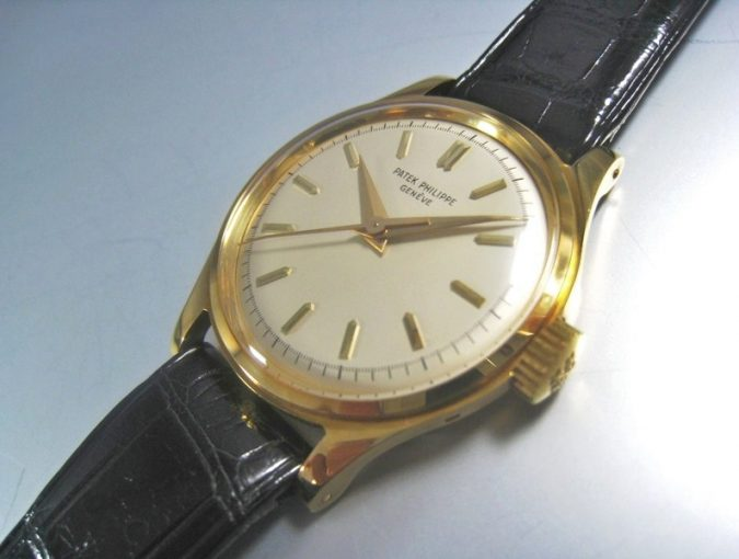 """ref.2508 Yellow gold """"N.O.S"""""""
