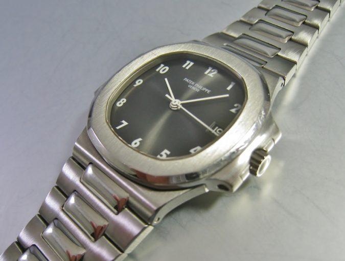 ref.3800 Steel Nautilus with Arabic numerals