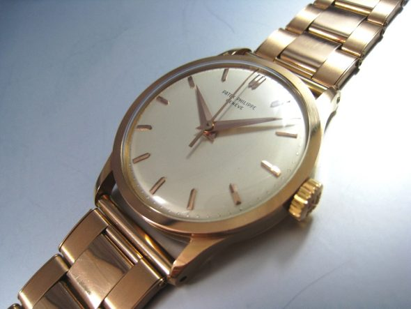 ref.570 Rose gold with sweep centre seconds