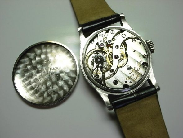 ref.96 steel with gold indexes