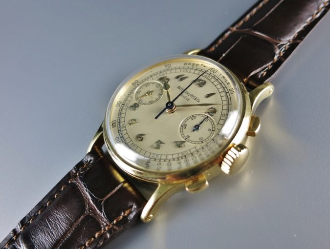 ref.130 Yellow gold with Breguet numerals
