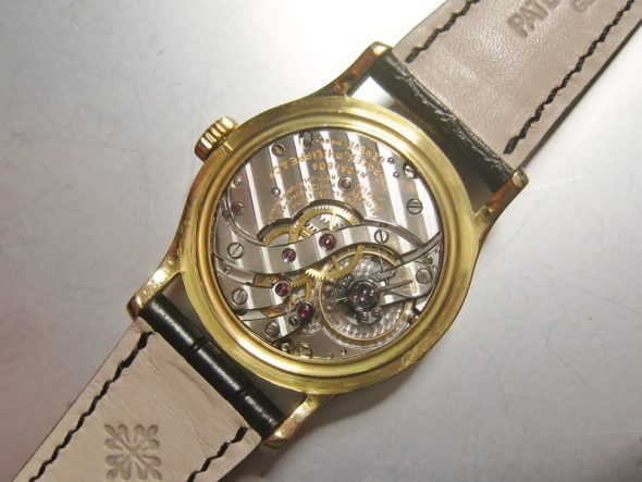 ref.1526 Yellow gold retailed by Cartier