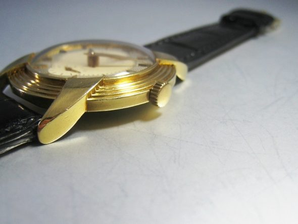"ref.2549 Yellow gold ""Devil's Horn"""