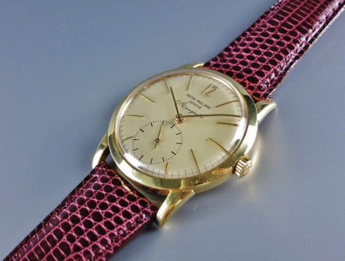 ref.2570/1 Yellow gold Anti-magnetic