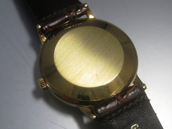 ref.3410 Yellow gold antimagnetic