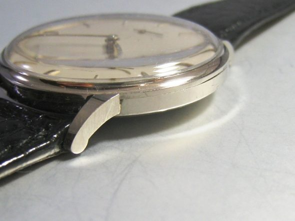 """ref.3410 White gold """"Anti-magnetic"""""""