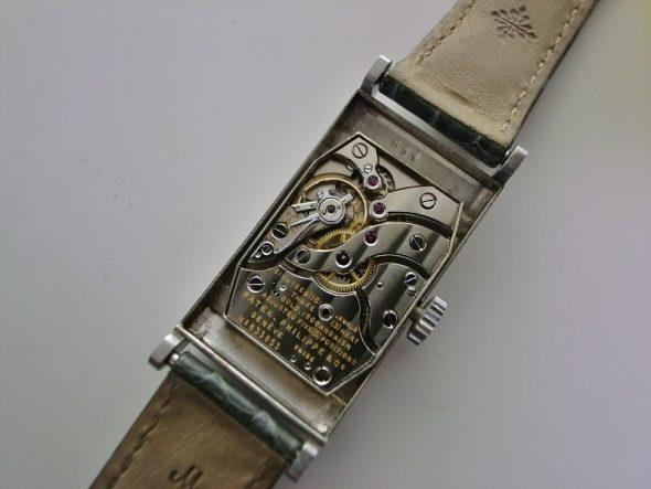ref.425 Platinum with diamond set dial