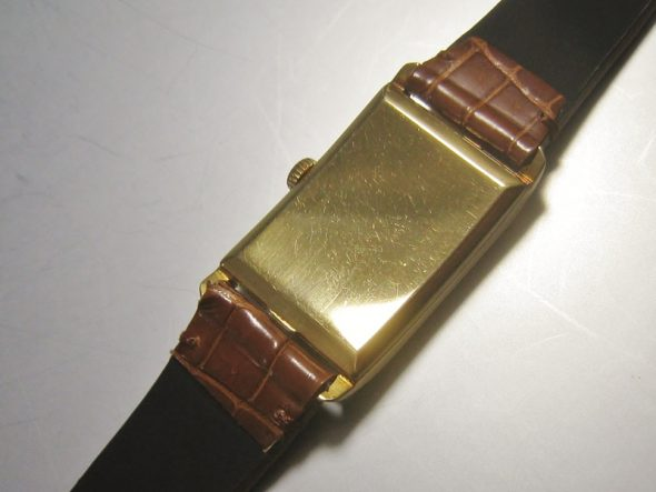 ref.445 Yellow gold retailed by Oscar Linke