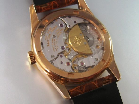 ref.5000 Rose gold with Hausmann dial