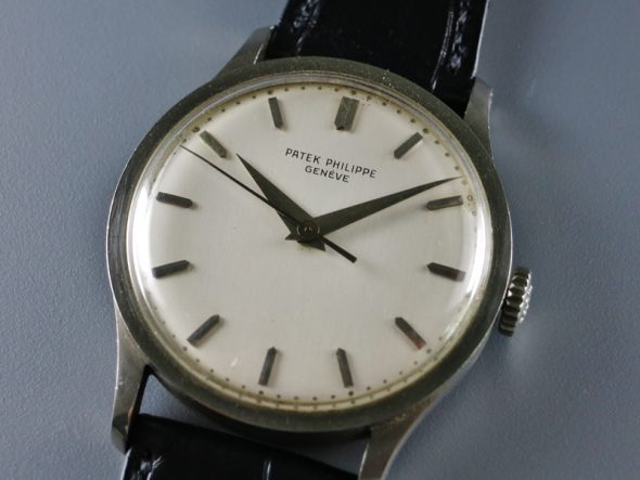 ref.570 White gold with sweep centre seconds