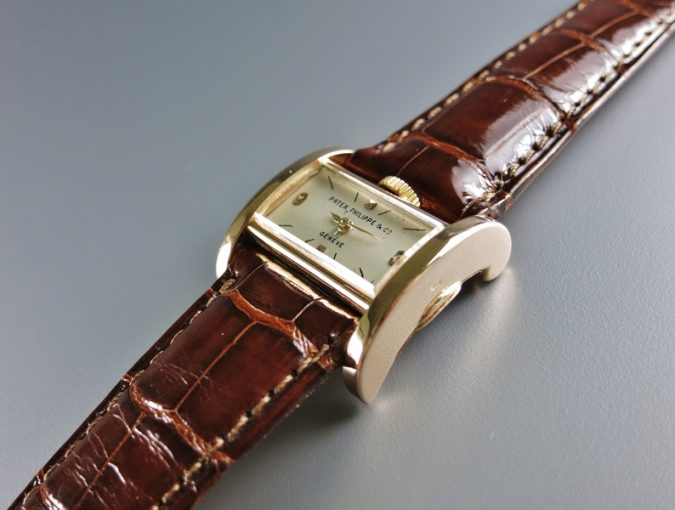 """ref.598 Rose gold """"Drivers' Watch"""""""