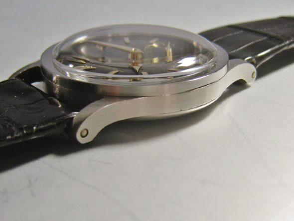 ref.96 Steel with black dial