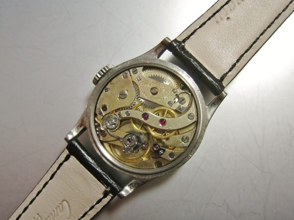 ref.96 Steel with two tone sector dial