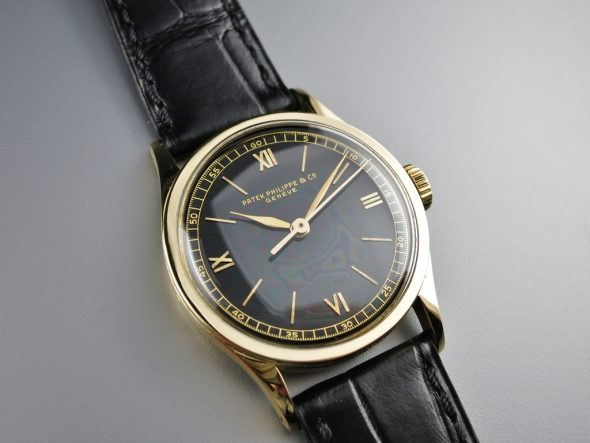 ref.96 Black dial & indirect sweep seconds