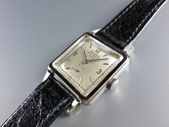 """ref.2422 Platinum """"Cartier"""""""