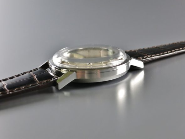 ref.3466 Steel with enamel signature