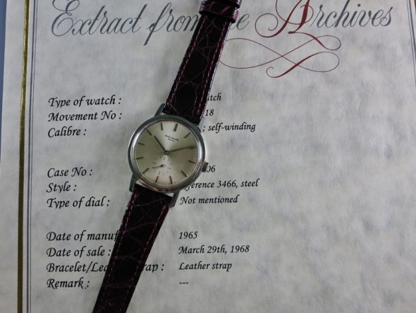 ref.3466 Steel automatic