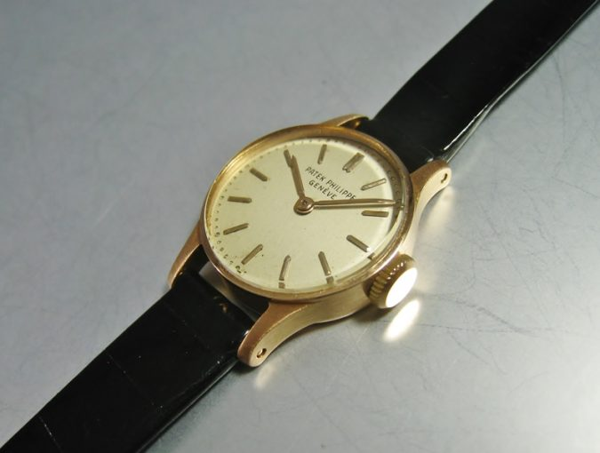 "ref.1289 rose gold ""Ladies' Calatrava"""