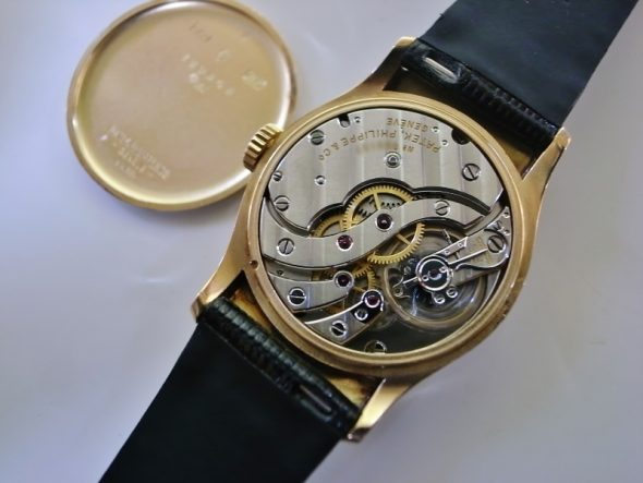 ref.539 rose with black dial