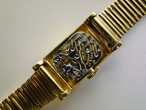 ref.3250 yellow retailed by Cartier