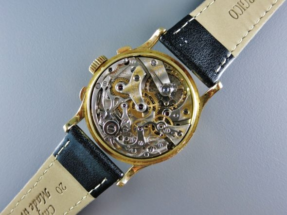 ref.130yg Oversized registers and Breguet numerals
