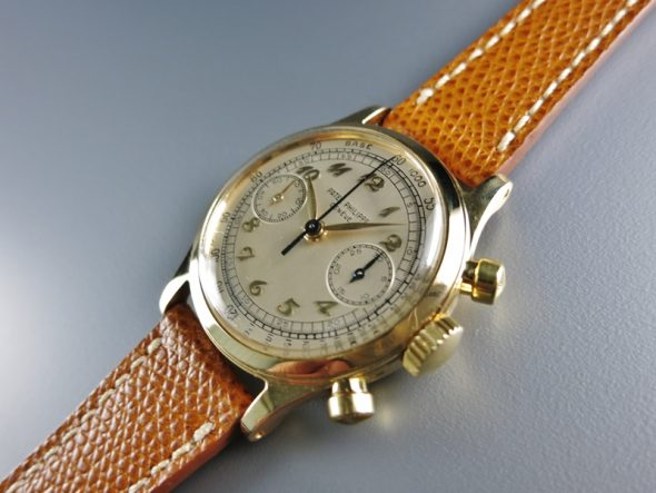 ref.1463 yellow with Breguet numerals