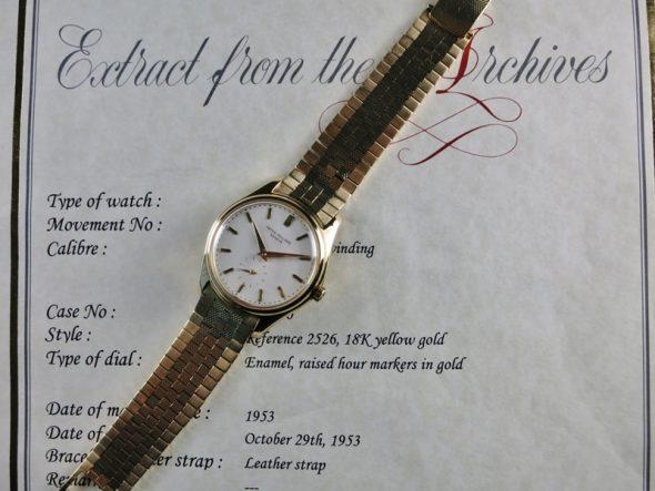 "ref.2526 Yellow with ""D"" bracelet"