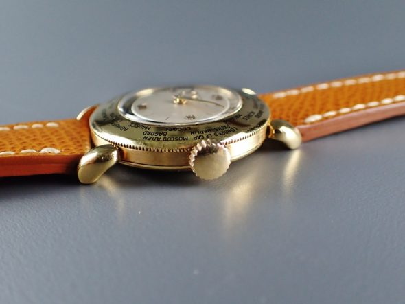 ref.1415 Yellow gold World time