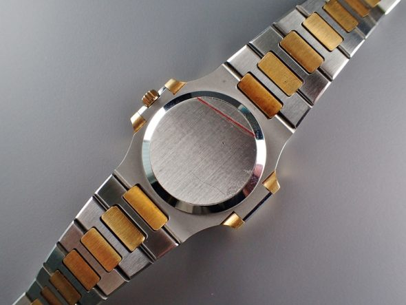 ref.3800 Steel & Gold with Ceramic-white dial