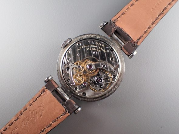 ref.453 steel & rose with sector dial
