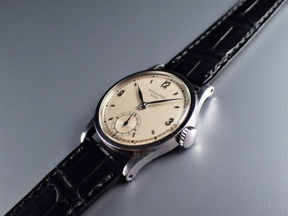 ref.96 Steel with two tone dial