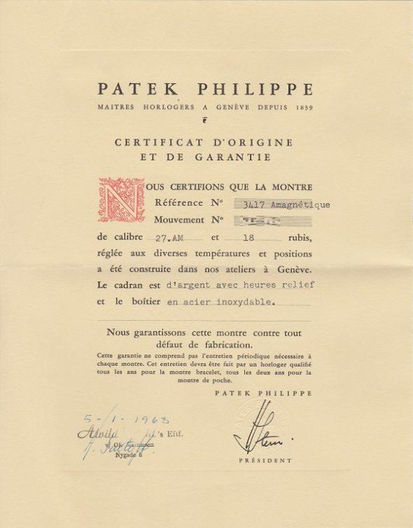 ref.3417 Steel with Certificate of Origin