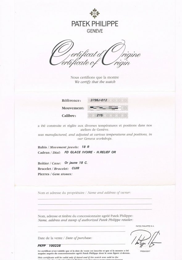 ref.3796J-012 N.O.S.