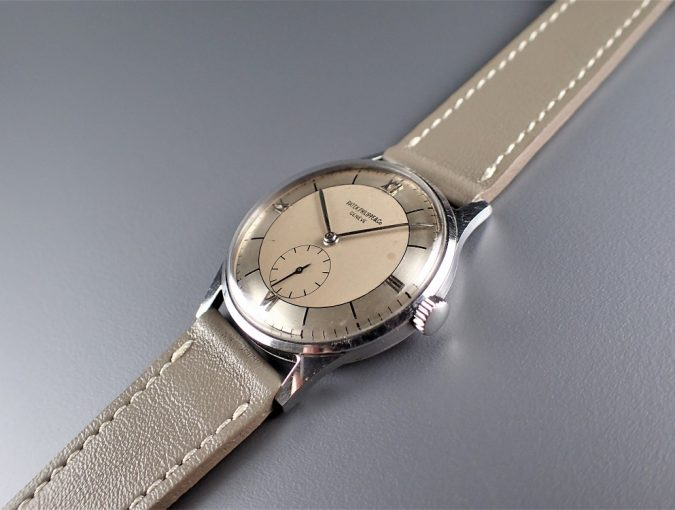 ref.2410 Stainless Steel with Two tone dial