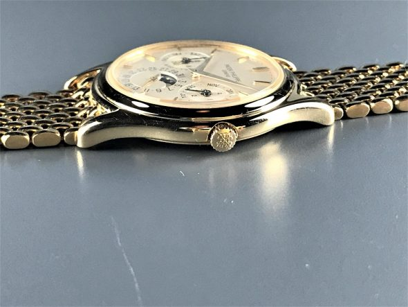 ref.3940 Yellow with Yellow gold bracelet
