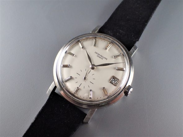 ref.3445pt with buguette diamond indexes