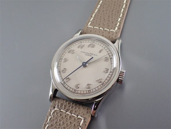 ref.96 Steel with Breguet numerals and sweep second