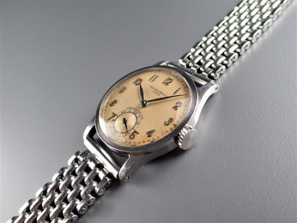 ref.96 Steel with arabic numerals retailed by CASA WELSCH, LIMA