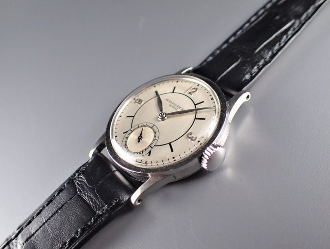 ref.96 Steel with Sector sub-second