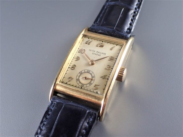 ref.1560/1 Yellow with Breguet numerals