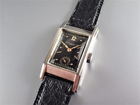 ref.522 Steel with Black dial