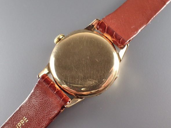 Early Officer with Enamel dial
