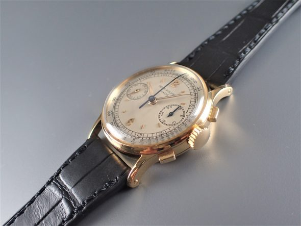 ref.130 Yellow with Two tone dial