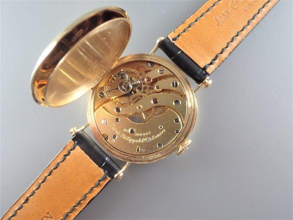 Early officer-type Enamel dial